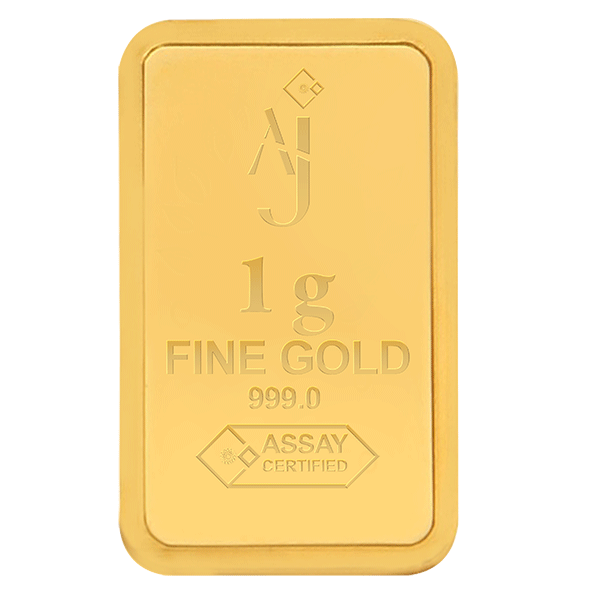 1 g MINTED GOLD BAR