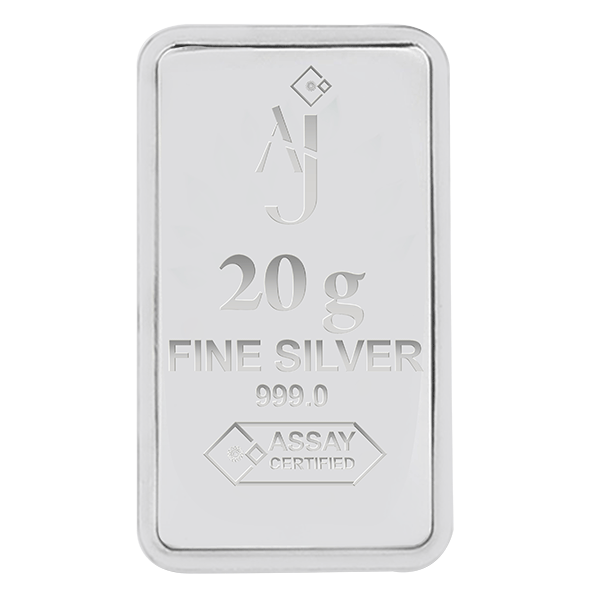 20 g MINTED SILVER BAR