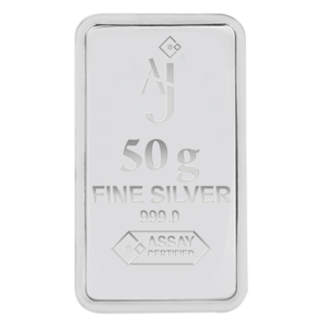50 g Minted Silver bar