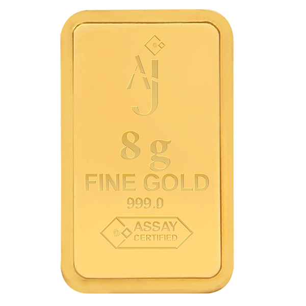 8 g MINTED GOLD BAR