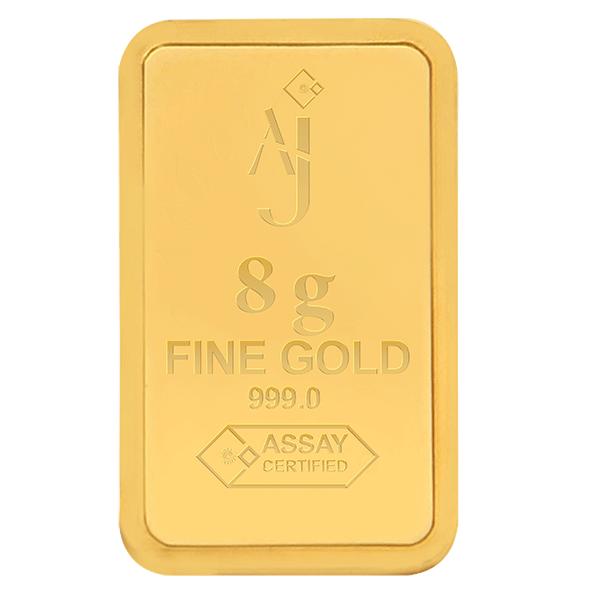8 g MINTED GOLD BAR